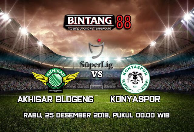 Prediksi Akhisar BldGeng vs Konyaspor 25 Desember 2018