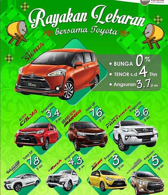 Rayakan Lebaran 2017 Bersama Toyota Citra Raya Tangerang
