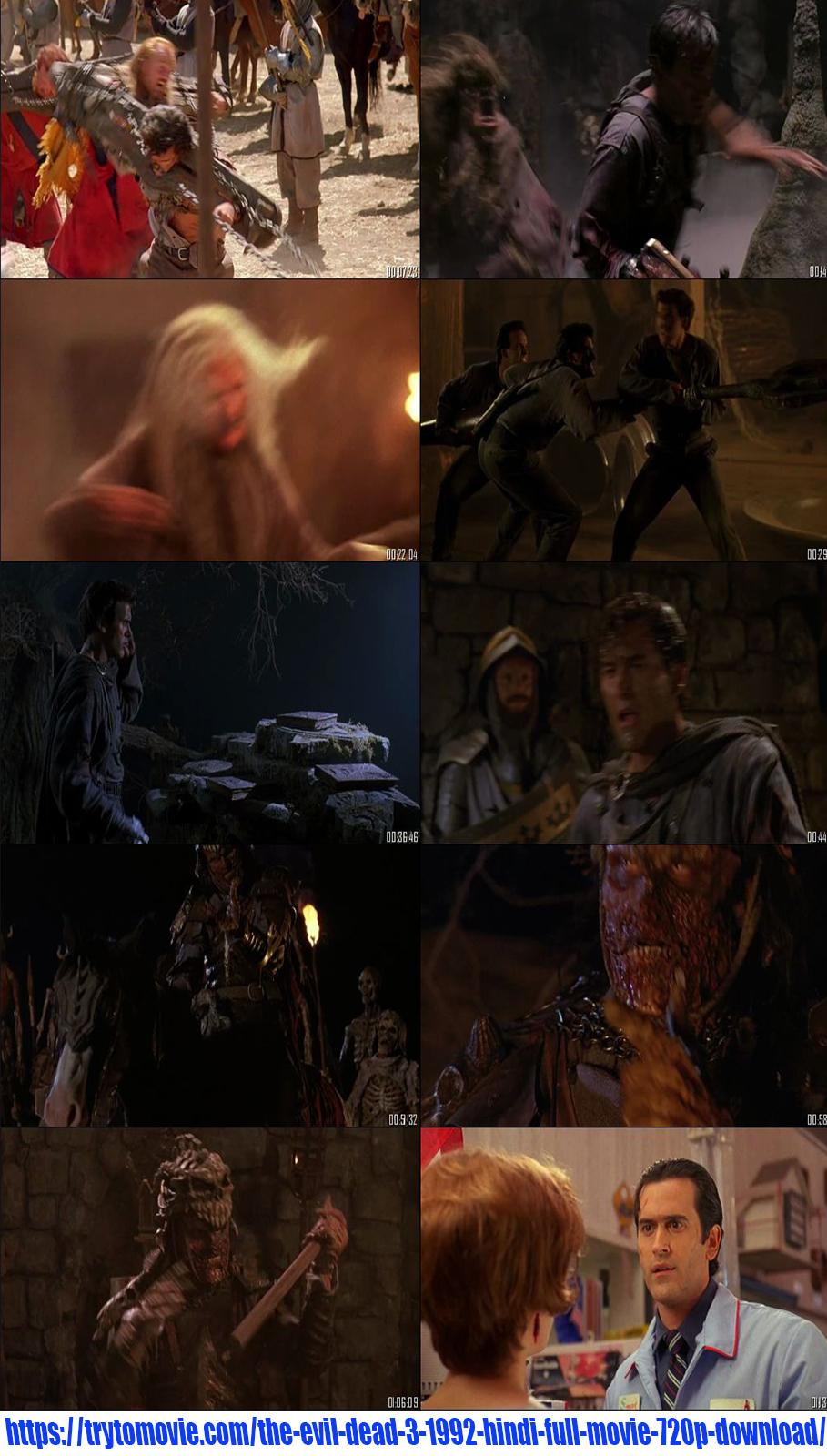 The Evil Dead 3 1992 Hindi Full Movie 720p Download