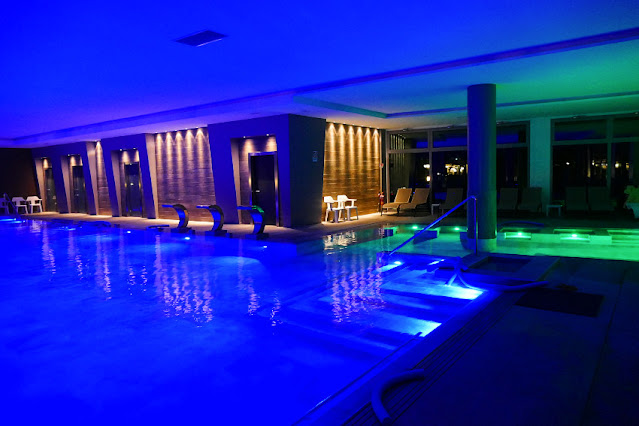 piscine abano notturna