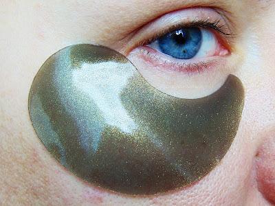 Petitfee - Black Pearl & Gold Eye Patch - Hydrożelowe Płatki pod Oczy