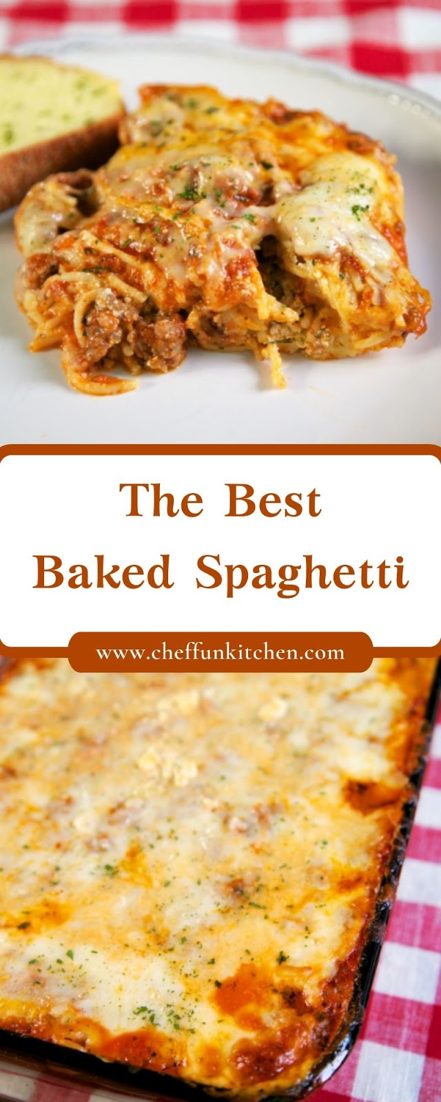 The Best Baked Spaghetti