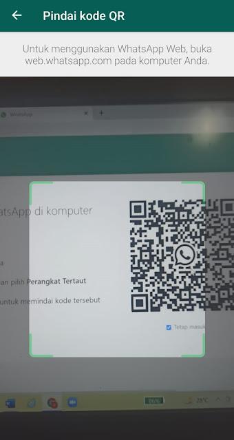Cara Membuka Whatsapp di PC atau Laptop Menggunakan Browser