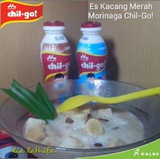 Resep Es Kacang Merah Susu Morinaga Chil-Go!