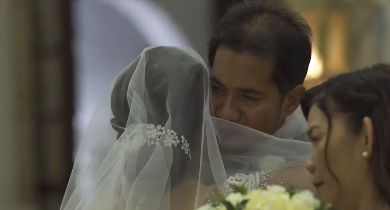 Priest's powerful homily makes everyone cry at wedding