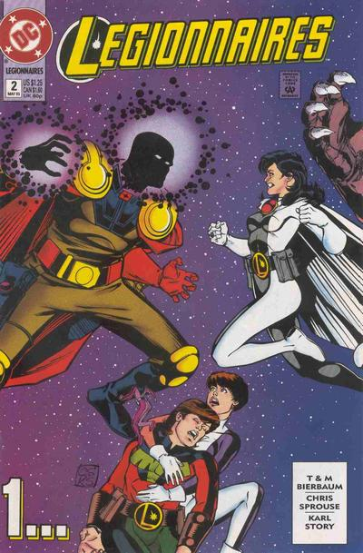 Legionnaires #2 annotations: Getting the Band Back Together!