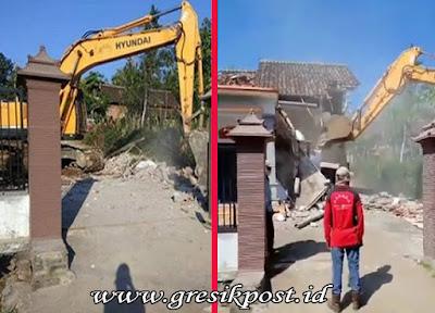 Video Viral Rumah di Malang yang Dihancurkan Diduga Karena Masalah Ini
