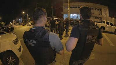Assaltante de banco atira contra equipes das Polícia Civil e Militar e morre em confronto no Sertão de SE