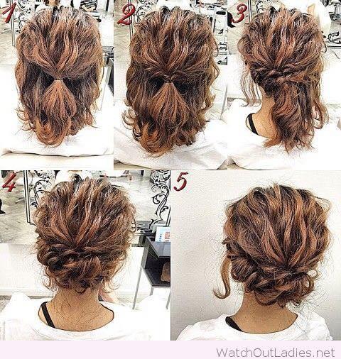 9 Cara Mengikat rambut Pendek Simple 22192f9b4f