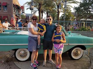amphicar eco-friendly disney world vacation zero-waste