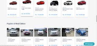 Harga mobil bekas dibawah 100 juta