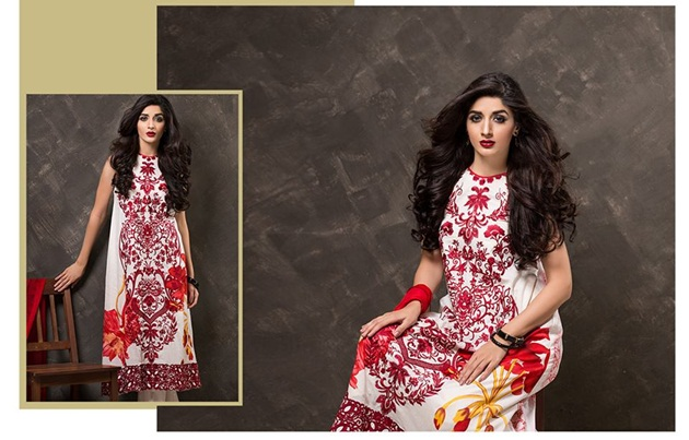 Mahiymaan Eid Collection 2015 by Al-Zohaib Textile