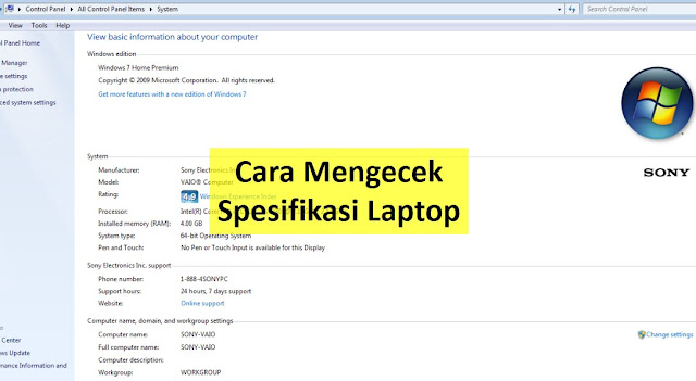 √ 5# Cara Cek Spesifikasi Laptop (No 3. Paling Guampang) - Pakar ...