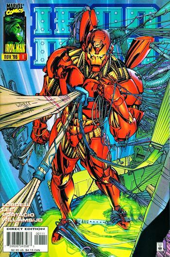 En los cómics, Iron Man ha tenido muchas armaduras