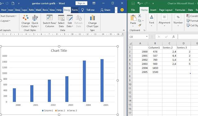Tutorial Mudah Cara Membuat Grafik Diagram Batang di Microsoft Word TERBARU
