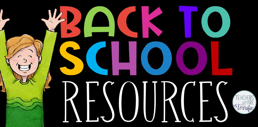 Fabulous resources and ideas to get you started back to school! This blog post will give you details about an Escape Room, a STEM Challenge, math and reading worksheets, newsletter templates, and posters that are all perfect for the beginning of your school year!