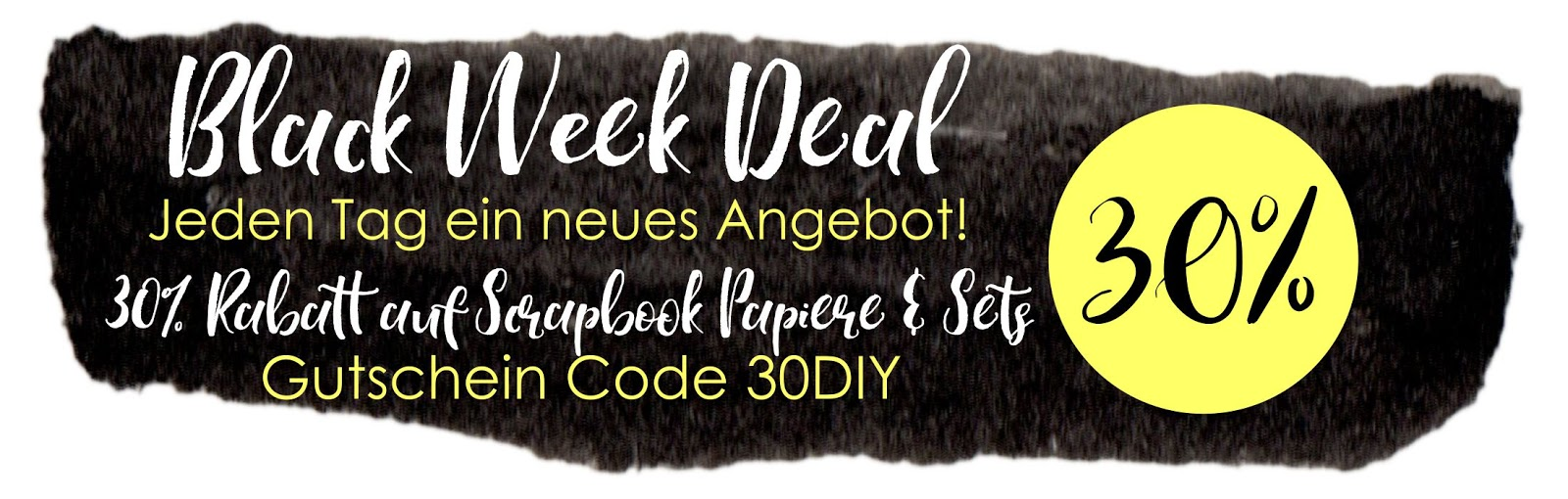 Black Week Deal -30% auf Scrapbookpapier & Kits in 12x12 | made-by ...