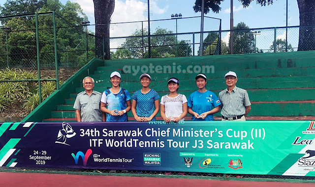 Libas Petenis Jepang, Janice Tjen Melaju ke Final ITF Sarawak J3