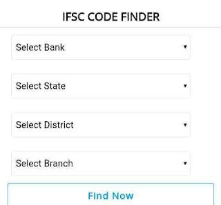Any bank IFSC code finder websait