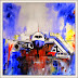 Watercolor Painting of Airplane