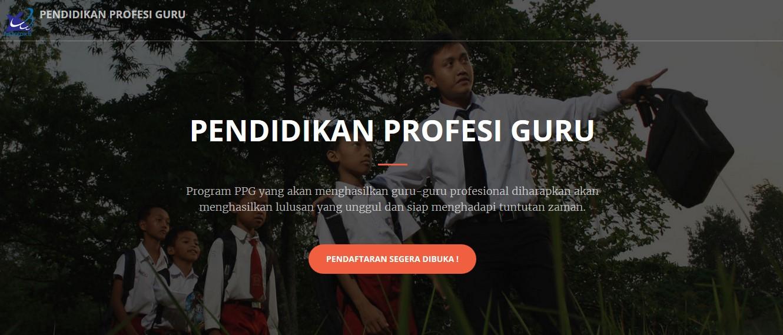 Laman Resmi Pendaftaran PPG Reguler Bersubsidi 2017