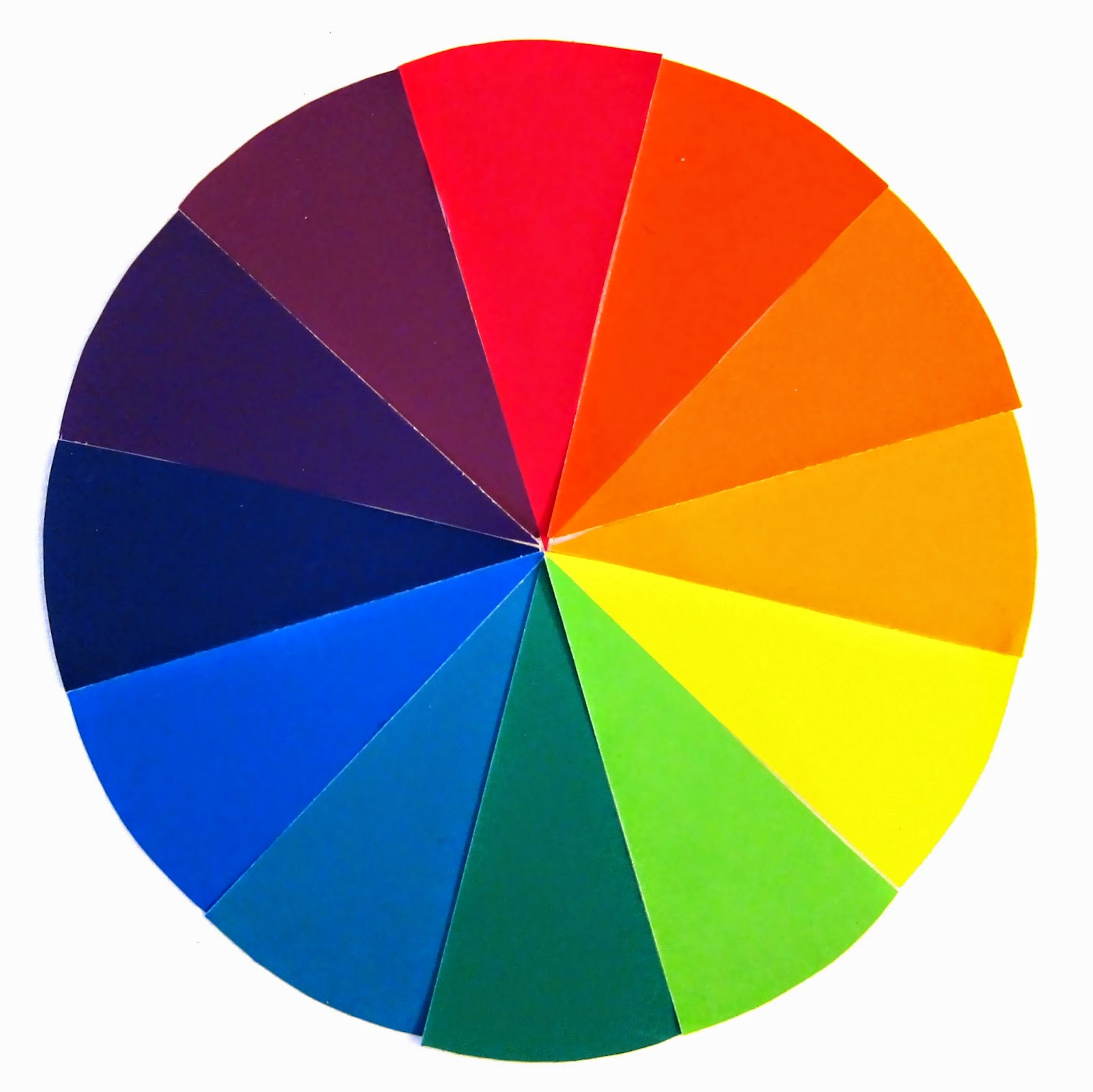 Art At Hosmer Color Wheel Snowflakes