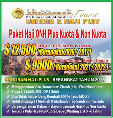 Program Haji Plus Non Kuota