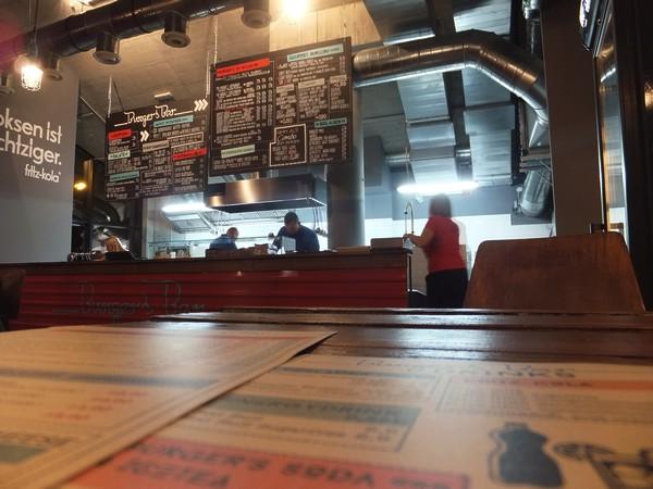Vienne Wien burger's burger bar Vorgartenstrasse leopoldstadt restaurant
