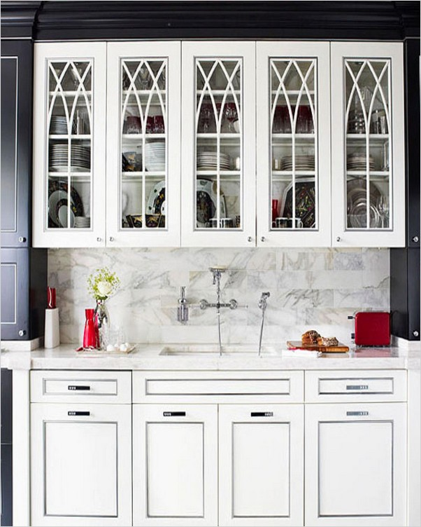 KITCHEN Wall Cabinets With Glass Doors | Home Interior ...