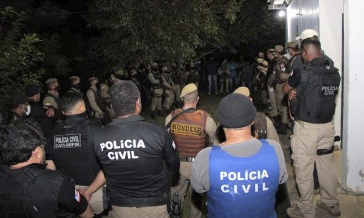 Operação da Polícia combate grupos criminosos na Chapada Diamantina