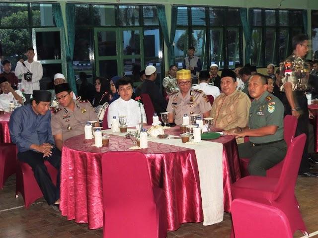 KODIM 6015/Kuningan  Gelar Silaturahmi BukBer Dengan Para Kyiai, Tokoh LSM, Dan Ormas Kuningan