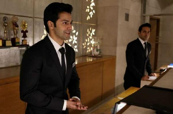 Varun Dhawan in October, Hotel Management Trainee, Hotel Reception Scene