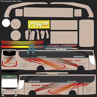 Livery bus murni jaya jbhd 2