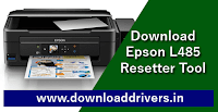 Download Resetter tool Epson L485, Reset tool, Epson adjustment software L485