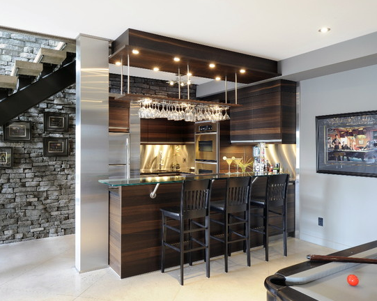 The London Design Build Company We Love Home Bars | Bar Under Stairs Design | Stair Storage | Basement Remodeling | Floating Shelves | Space | Escaleras