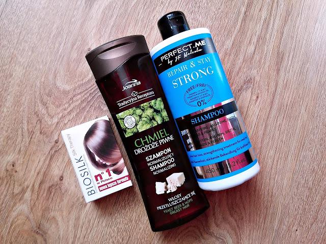haul kosmetyczny, szampony, Perfect.Me, Joanna