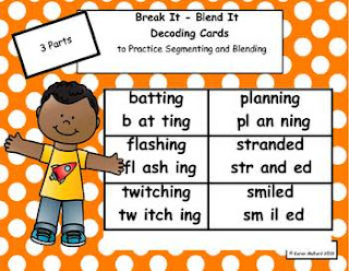 https://www.teacherspayteachers.com/Product/Decoding-Cards-to-Practice-Segmenting-and-Blending-Words-with-3-Parts-Bundle-2220815