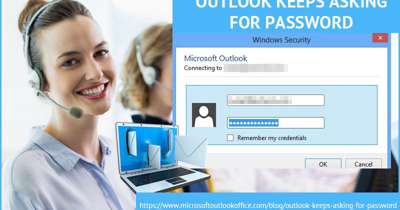 Instant Solution for Outlook Keeps asking for Password Office 365 Issue