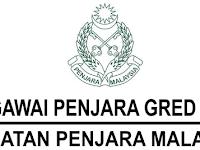 Kekosongan Terkini di Jabatan Penjara Malaysia
