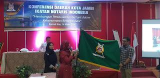 SAH, Firman Gusri.SH.MKn Pimpin Pengda INI Kota Jambi Periode 2019-2022.