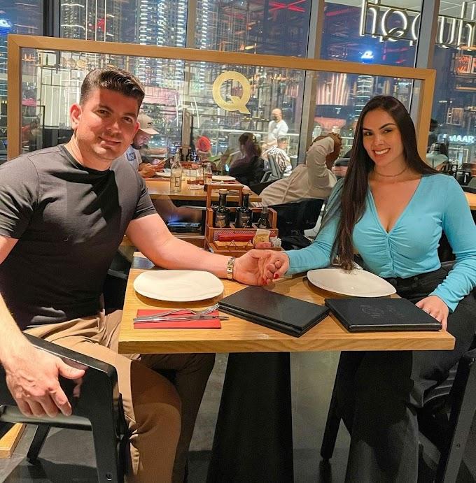Cantora Hannah é pedida em casamento em Dubai por empresário