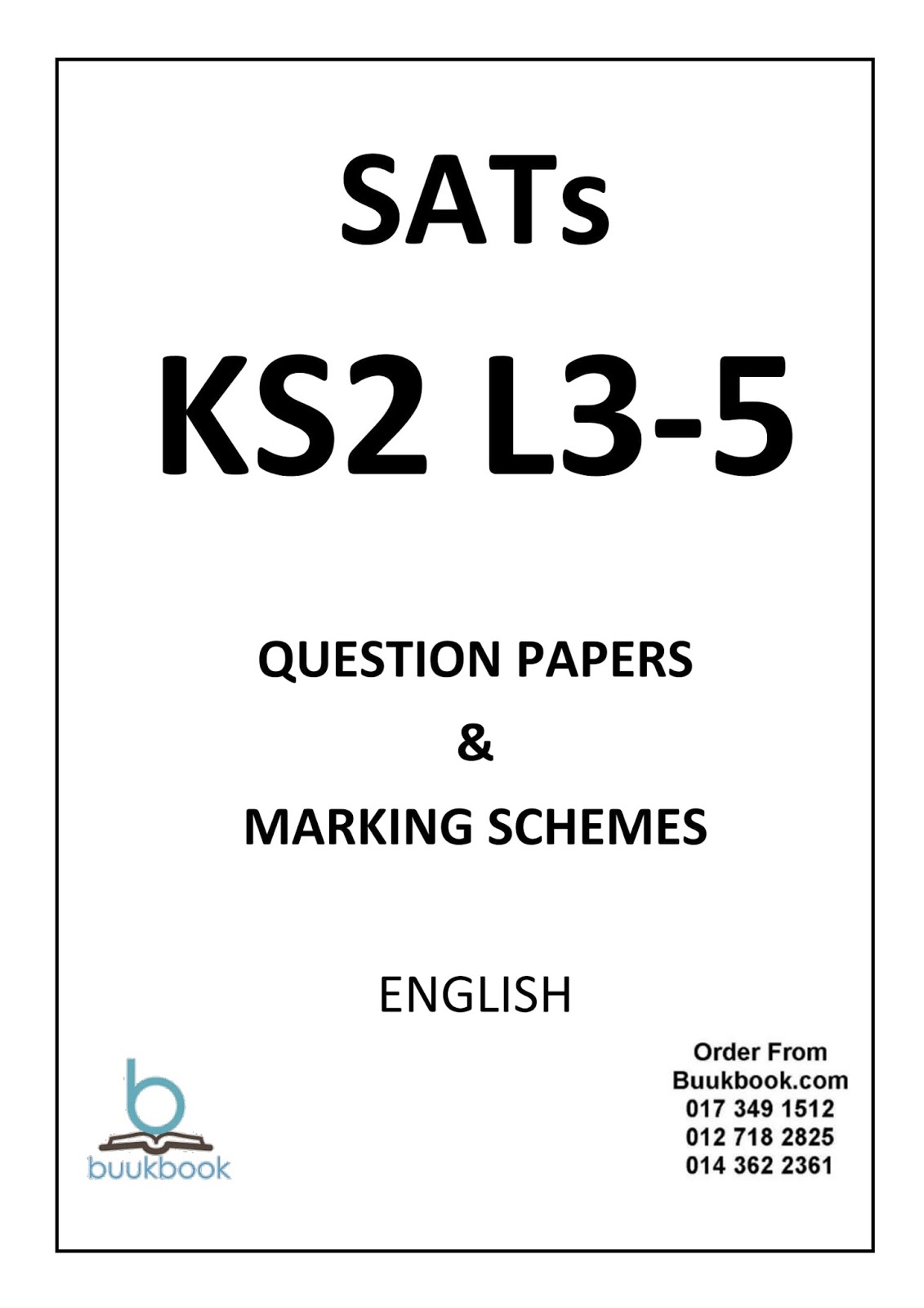 KS2 SATs Papers