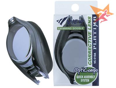 Mắt kính bơi cận chống tia UV cực chất