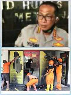Kabid Humas Polda Metro Jaya,Pelaku Pengrusakan Polsek Ciracas Jakarta Timur  Dalam Pengejaran
