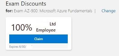 Microsoft Exam Voucher Claim