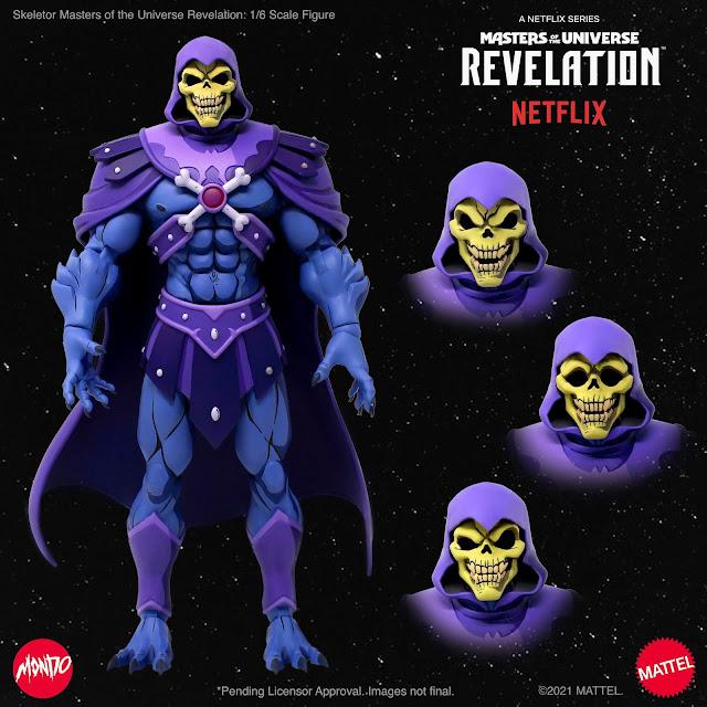 Tutte le versioni di Skeletor!
