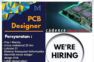 Lowongan Kerja Bandung PCB Designer Meister Sinergi