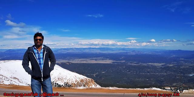 Pikes Peak Scenic Highway Cascade
