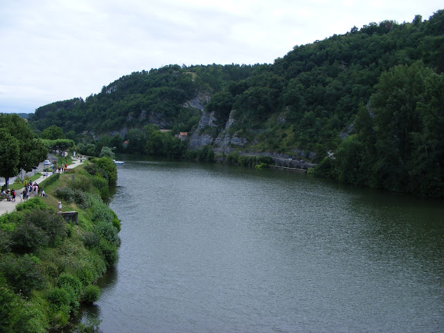 Lot River, Cahors, France. Photo by Loire Valley Time Travel.