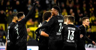 Video Cuplikan Gol: Borussia Dortmund 5-0 Fortuna Duesseldorf (Bundesliga)